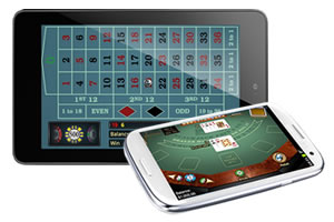 mobile e tablet roulette e blackjack